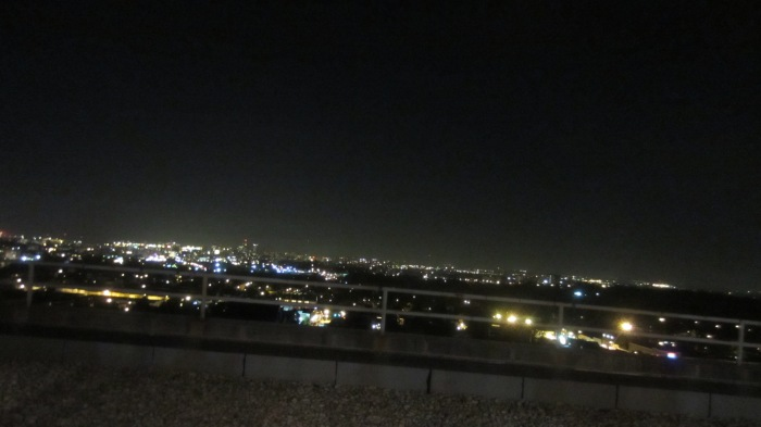Night view at Grandview Penthouse