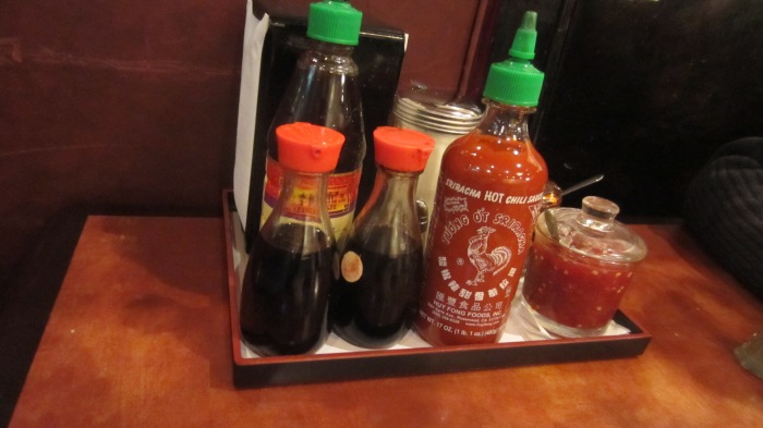 The something or other condiments