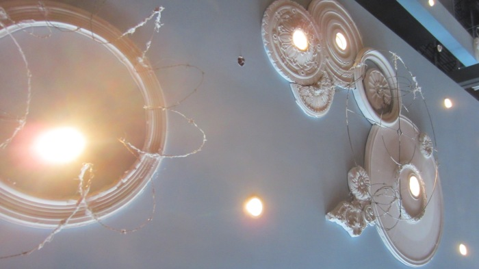 Busyboys ad Poets ceilings