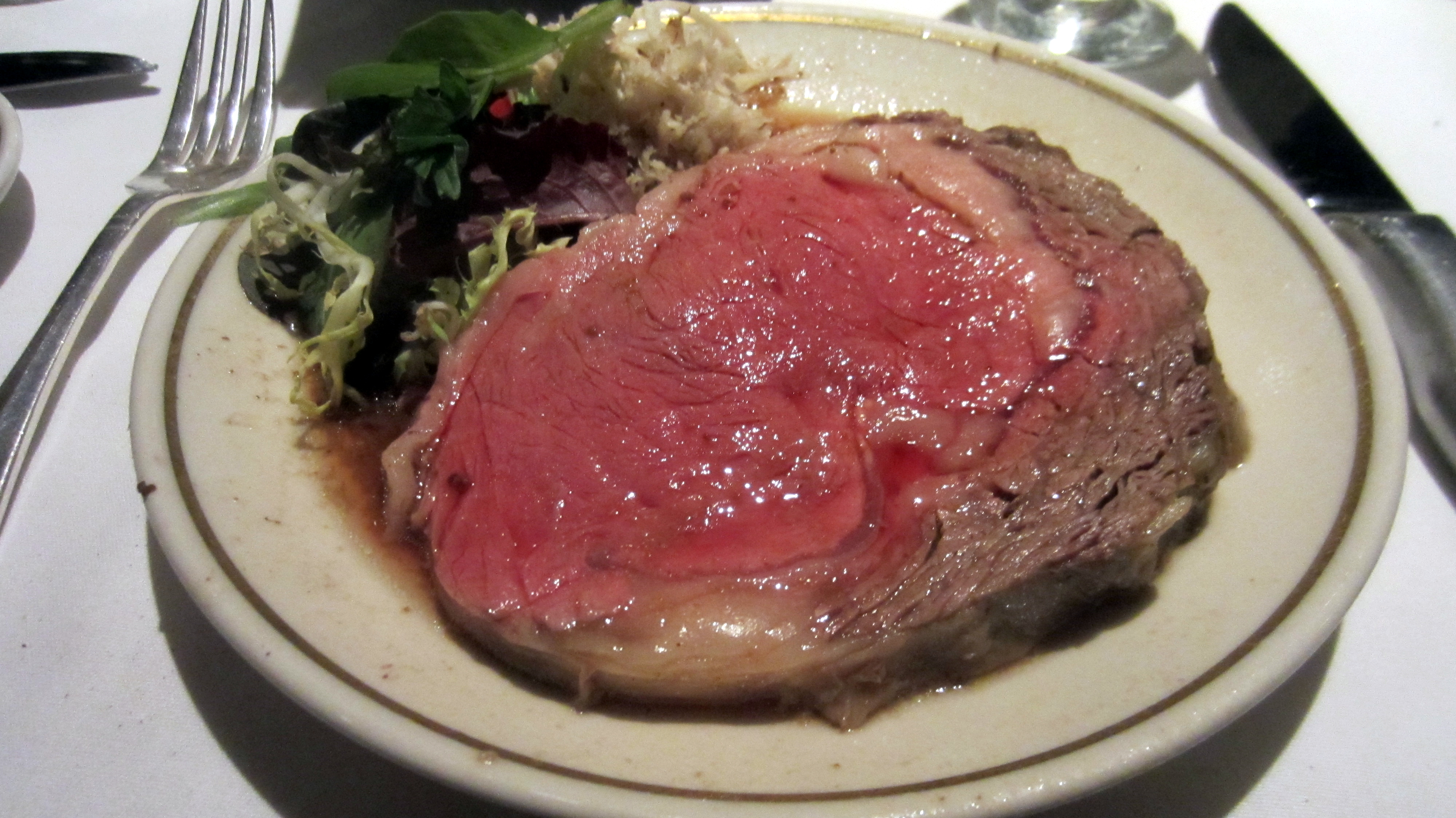 REVIEW: The Prime Rib – A Restaurant Week Experience ...